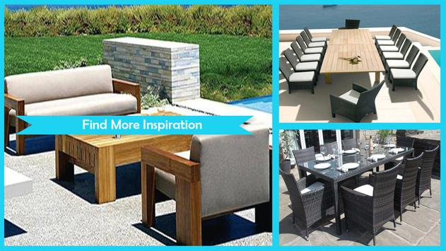 Stylish Outdoor Dining Sets poster
