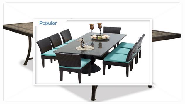 Stylish Outdoor Dining Sets screenshot 2