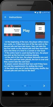 Hand and Foot Scores screenshot 4