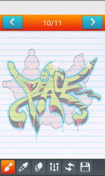 Learn to Draw Graffitis apk screenshot