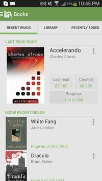 Aldiko Book Reader Cartaz