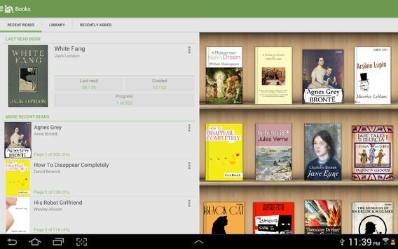 Aldiko Classic captura de pantalla 7