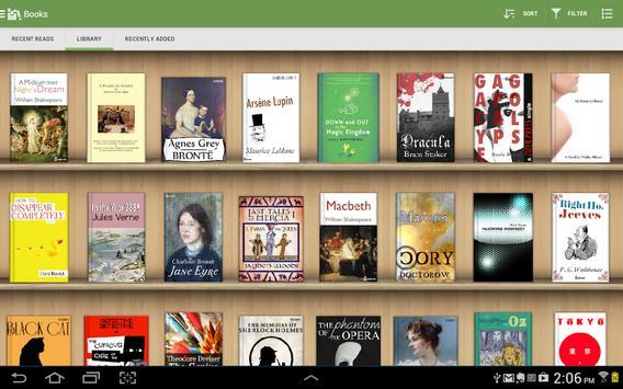 Aldiko Classic captura de pantalla 8