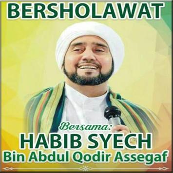Shalawat Mp3 Habib Syech  Lengkap Terbaik poster