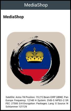 Liechtenstein TV Channels screenshot 1