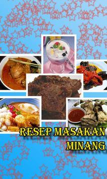 Resep Masakan Minang poster