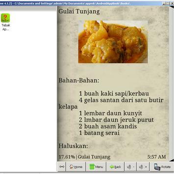 Resep Masakan Minang apk screenshot