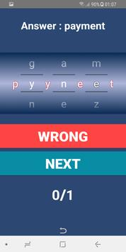 Word puzzle - Game screenshot 3