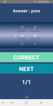 Word puzzle - Game screenshot 1