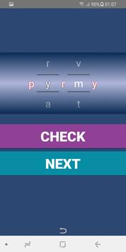 Word puzzle - Game screenshot 2