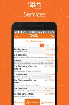 CareXpress apk screenshot