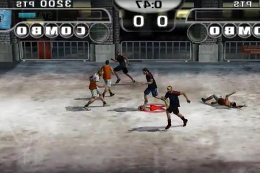 Game Fifa Street 2 New Tutorial screenshot 1