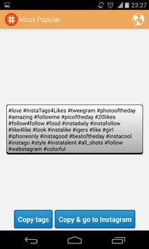 Tags for Social Likes imagem de tela 2