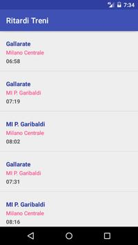 Ritardo Treni screenshot 2