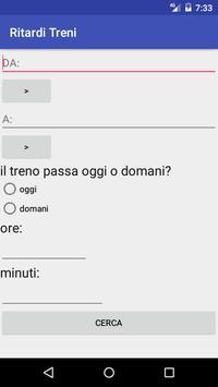 Ritardo Treni screenshot 3