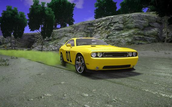 Car Driving Dodge Racing Challenger Simulator screenshot 1