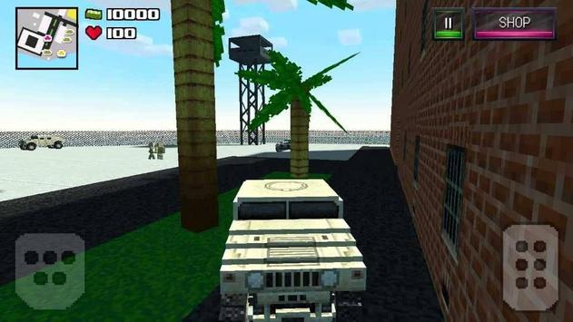 Block Survival Ninja Diverse screenshot 2