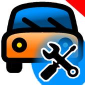 Диагностика поломок автомобиля icon