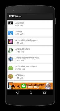 APK Share apk screenshot