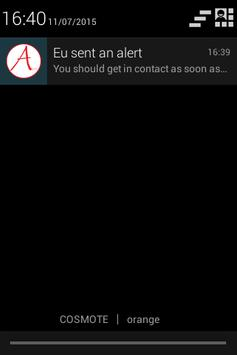 Alert apk screenshot