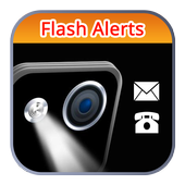 Alerts Flash Light CALL & SMS icon