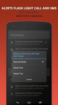 Alerts Flash Light CALL & SMS apk screenshot