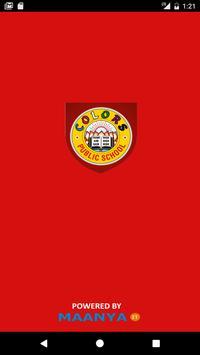 Colors Public School poster