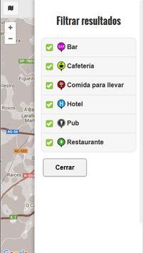 Gourmet, dónde comer apk screenshot