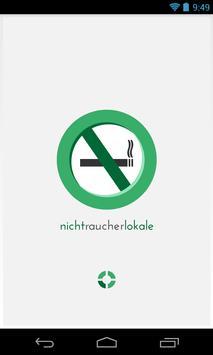 Nicht Raucher Lokale poster