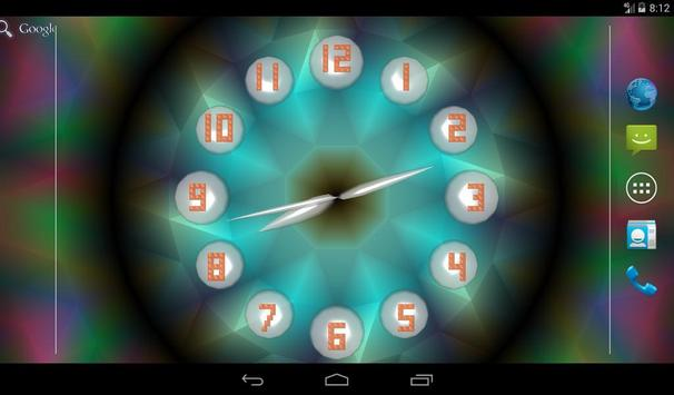 Analog Clock Live Wallpaper apk screenshot
