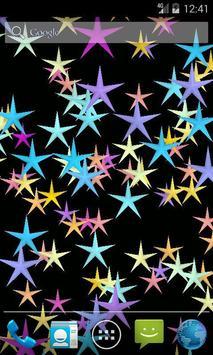 Flicker Stars Live Wallpaper poster