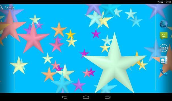 Flicker Stars Live Wallpaper apk screenshot
