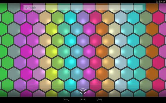 Hex Cells Live Wallpaper Apk Screenshot