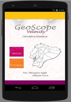 GeoScope Velocity poster