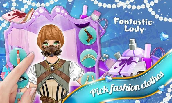 Fantastic World: Lady Dressup screenshot 4