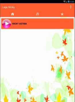 Lagu dan lirik Nicky astria Lengkap apk screenshot