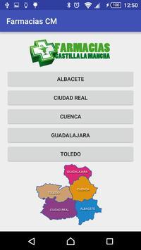 Farmacias Castilla la Mancha screenshot 1