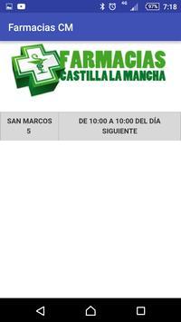 Farmacias Castilla la Mancha screenshot 2