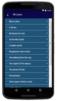 Alex D'Castro - Song And Lyrics apk screenshot