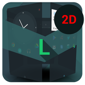 Next Launcher Theme L2D icon
