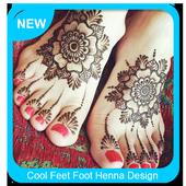 Cool Feet Henna Design icon