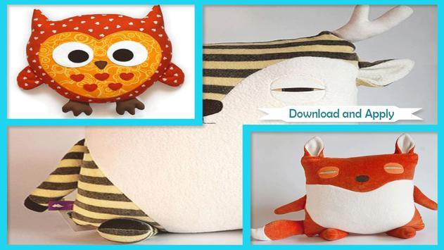 Cute DIY Animal Pillows screenshot 1