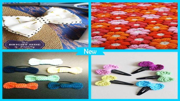 Cute DIY Crochet Bow Pattern Ideas screenshot 4