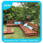 Awesome DIY Outdoor Sofa Project icon