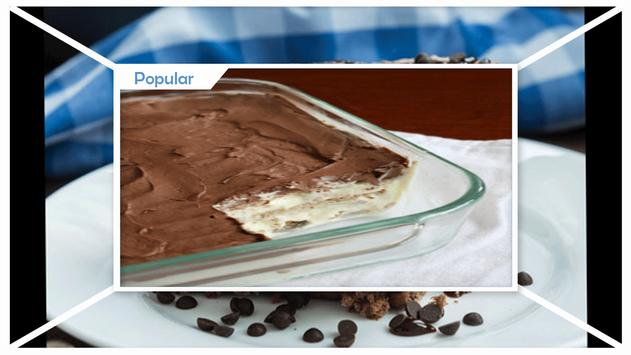 Delicious Chocolate Icebox Cake Recipe apk screenshot