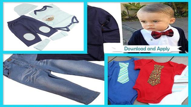 DIY Baby Boy CLothes poster