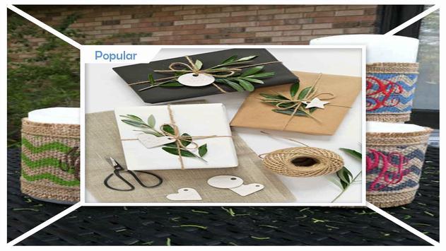 DIY Monogrammed Burlap Gift Tags screenshot 2