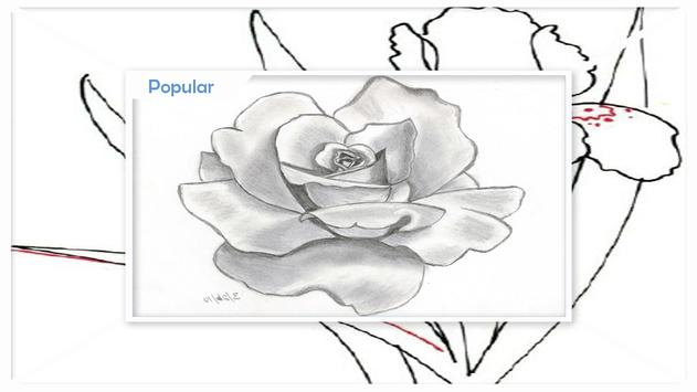 Menggambar Sketsa Bunga Langkah Demi Langkah For Android Apk Download