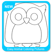 Easy Animal Coloring Pictures icon