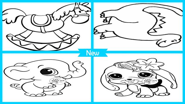 Easy Animal Coloring Pictures screenshot 4